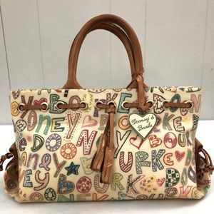 DOONEY & BOURKE Personalized Coated Canvas Handbag